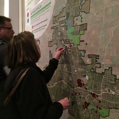 Hundreds of Newark residents attended a open house