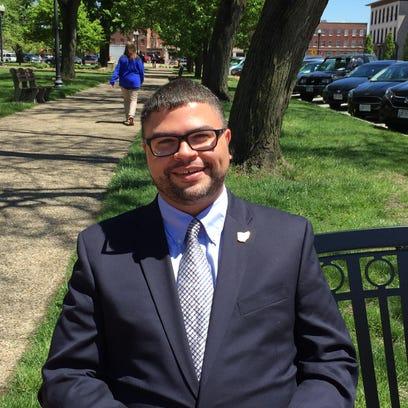 Jeremy Blake, a Newark City Councilman, will seek a