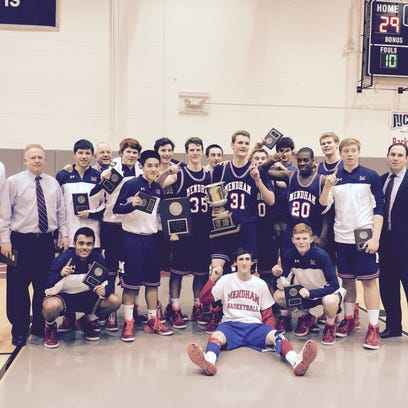 The Mendham boys basketball team defeated Chatham on