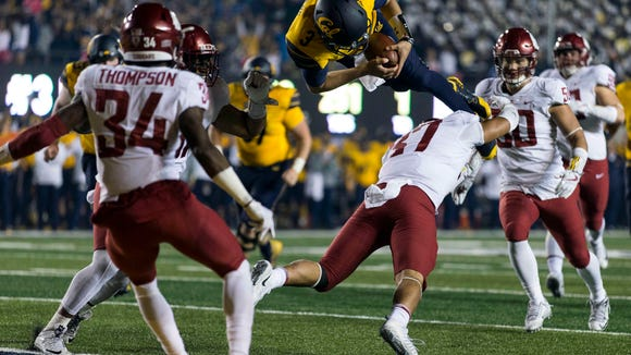 USP NCAA FOOTBALL: WASHINGTON STATE AT CALIFORNIA S FBC USA CA