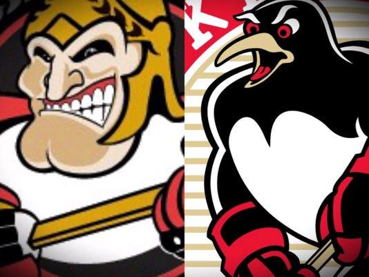 Senators and Penguins