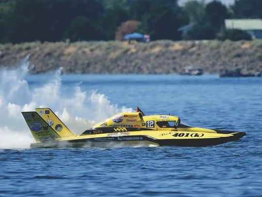 Greg Hopp to race at HydroFest