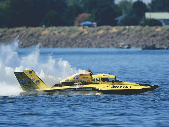 Greg Hopp drove the GP-12 Lucas Oil to victory at the North American Championships at 2017 HydroFest in Evansville. He is expected to compete in the 2020 HydroFair in Owensboro.