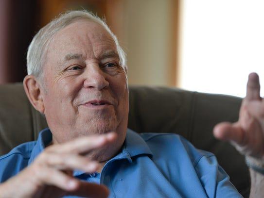 Heart patient Larry Rassier talks about the shortness