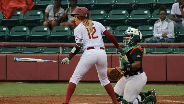 Jessica Burroghs' no-hitter led the Seminoles to a