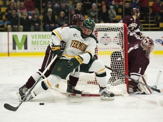 Colgate vs. Vermont Men's Hockey 12/30/15