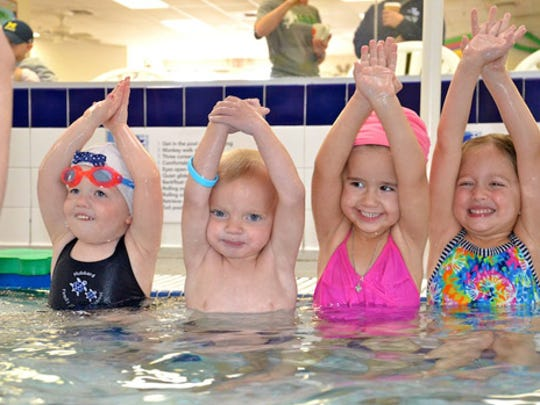 Kids as young as 30 months can enjoy swim lessons at