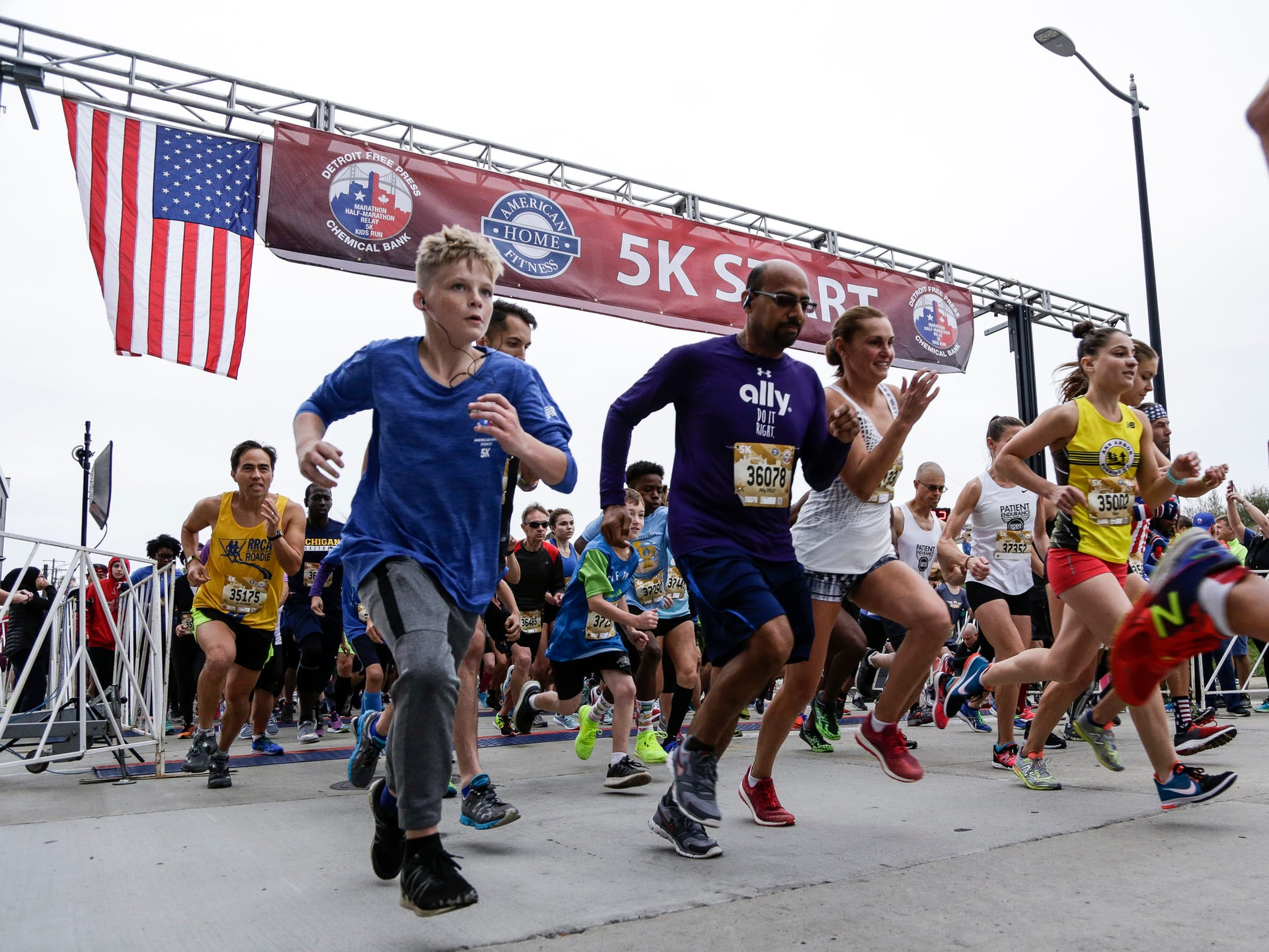 d56f1c93bf Runners take off for the American Home Fitness 5K run