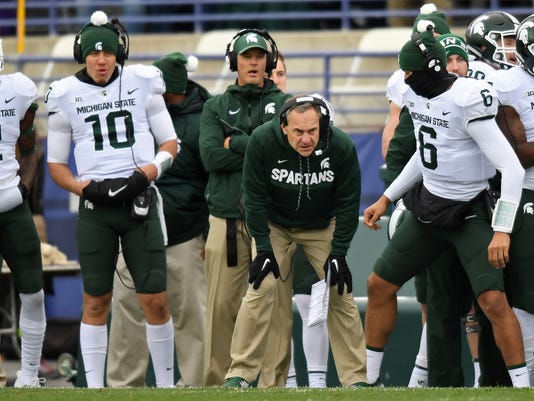 Michigan State Spartans at Northwestern Wildcats