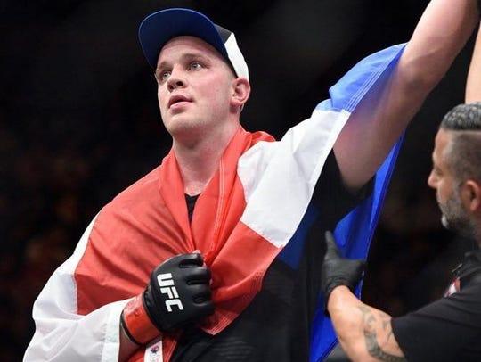 UFC fighter Stefan Struve