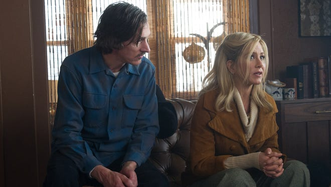 "John Hawkes and Jennifer Aniston in a scene from ""Life of Crime."""