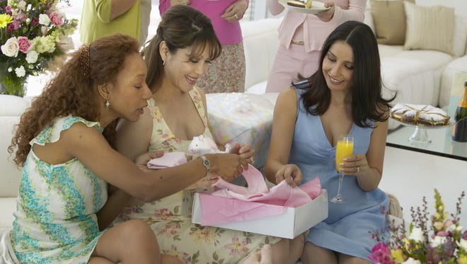 Group of women at baby shower.