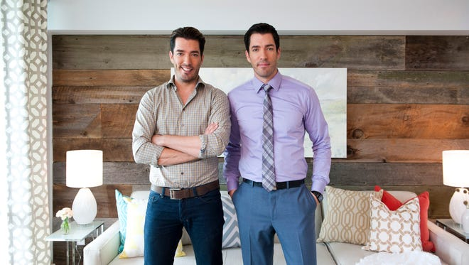 """Property Brothers"" features identical twin brothers Jonathan, left, and Drew Scott."