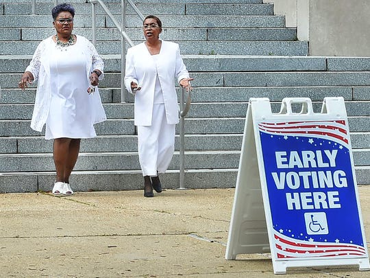 Early voting begins Saturday for the Oct. 12 election.