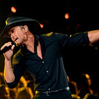 Tim McGraw will headline the Lansing music festival on Thursday, July 7.