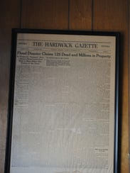 As part of the sale of the Hardwick Gazette, the newspaper