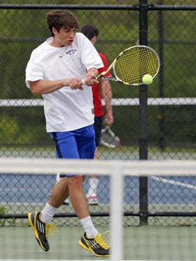 Bronxville senior Jimmy Purdy, seen here competing in the 2014 Section 1 championships, is the early favorite to win the sectional tournament this season.