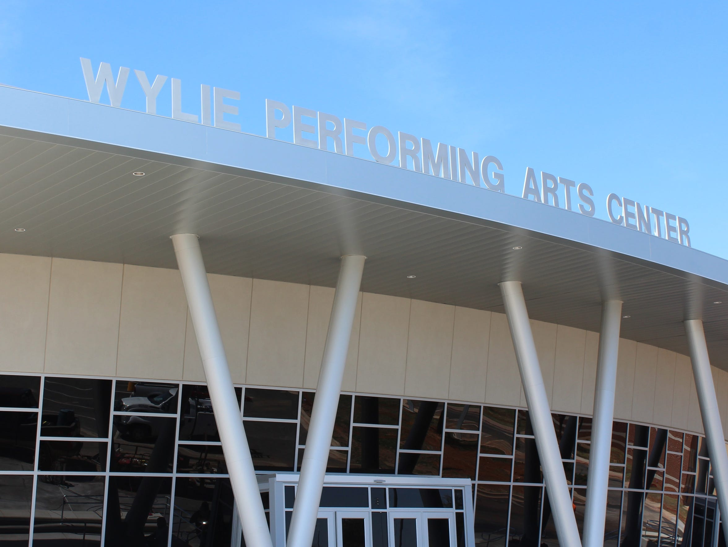 New performing arts center for the Wylie ISD.