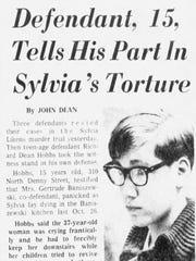 Boy Tells Court of Etching Sylvia