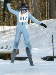 Ski jumping at the Badger State Games