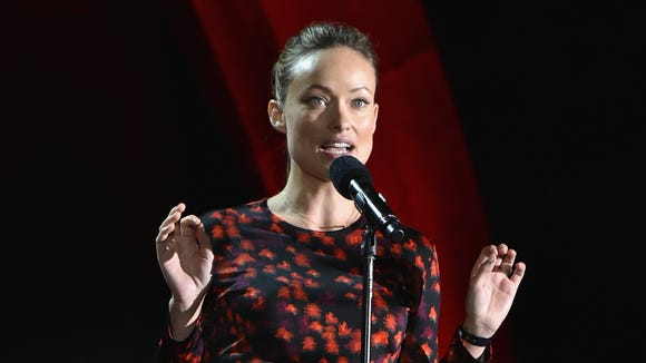 Olivia Wilde speaks onstage at the 2016 Global Citizen