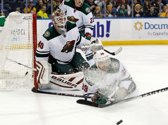 NHL: Minnesota Wild at Buffalo Sabres