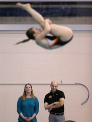 Devries has served two stints as RIT's diving coach,
