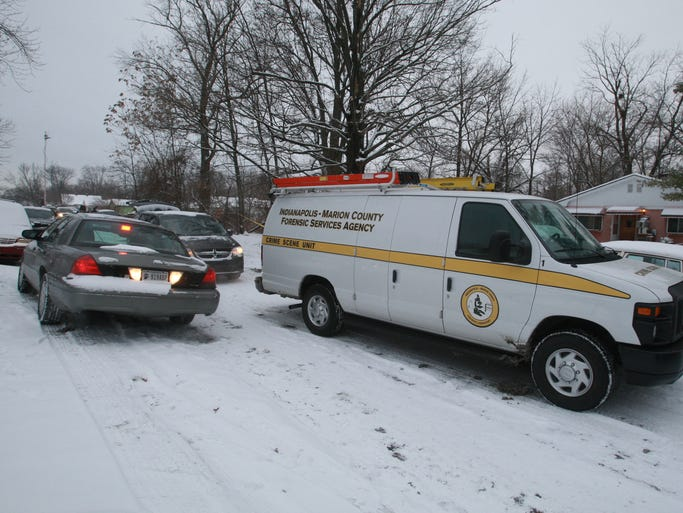 Indianapolis Metropolitan Police were called on Monday, Dec. 16, 2013, to 3136 Gale St., where a domestic argument led to an apparent murder-suicide overnight. Police said Thomas Emery fatally shot his girlfriend, Tamika Jones-Fleming, before turning the gun on himself. Two children, ages 6 and 11 years old, were in the home overnight at the time of the killing. The children discovered the bodies Monday morning, according to police.