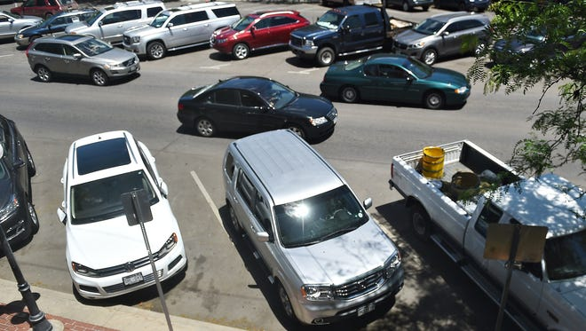 Fort Collins officials are weighing whether pursue paid on-street parking in the downtown area.