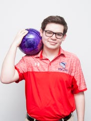 Nick Agnew, St. Benedict bowling