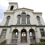 The Chemung County Courthouse.