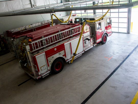 Kimball and Port Huron Township firefighters extinguished