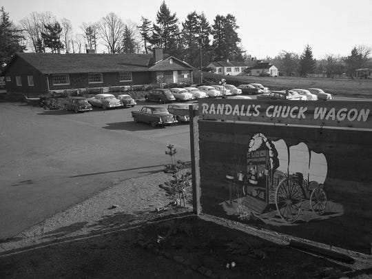 Randall's Chuck Wagon restaurant, which was on Commercial