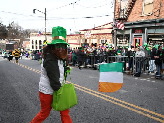 Scenes from the Dutchess County Saint Patrick's Day
