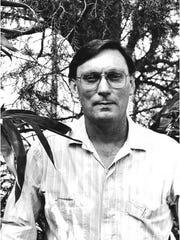 A photo of Dr. Sidney McDaniel taken in 1987.