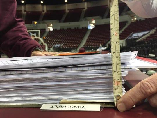 Vic Schaefer's folder.