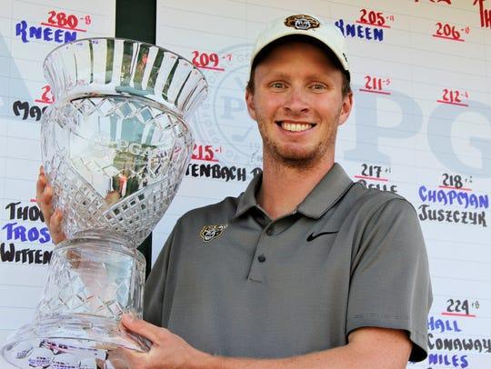 Lakeland High grad and Oakland University golfer Jake