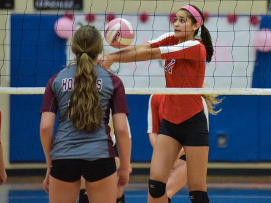 Gregory-Portland's Chloe Rodriguez and the Wildcats will finish the regular season against Carroll on Tuesday.