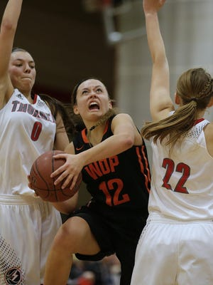 West De Pere's Liz Edinger was named the Bay Conference player of the year as a junior.