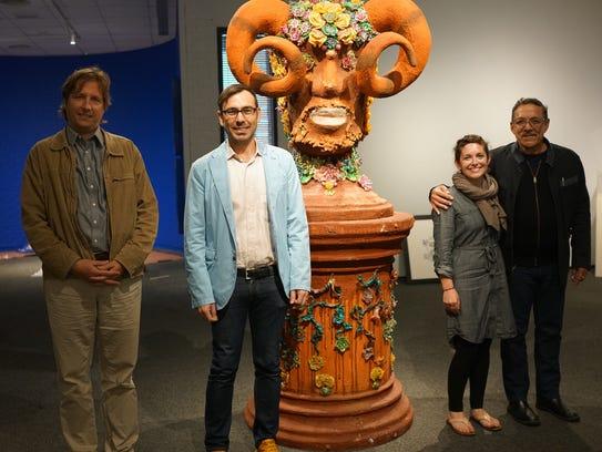 FSU curators and Miami-based, Haiti-centric, Edouard