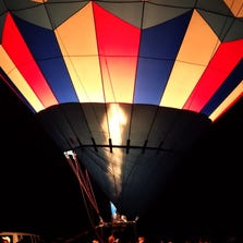 A look back at the Balloon Glow at Forest Park's Central Field Sept. 20, 2013.