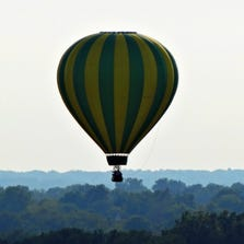 Hot-air balloons filled the sky Saturday afternoon for the 42nd annual Great Forest Park Balloon Race. The event is the oldest free hot-air balloon event in the world. You can send your pictures from this year's event to photos@ksdk.com