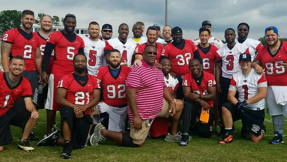 Thirty former Hillcrest High players participated in