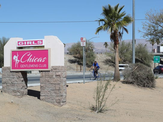 Chicas Gentlemens Club will open soon in Coachella.