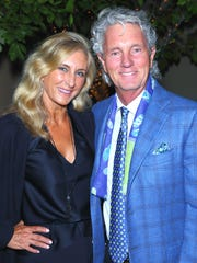 Silver Circle sponsors Stacey and Eisenhower Chairman Greg Renker