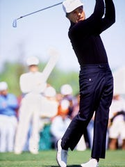 Gary Player, the winner of the Aetna Challenge in 1988 at The Club Pelican Bay.