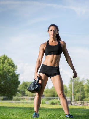 Angela Gargano is a finalist for Women's Health magazine's Next Fitness Star.
