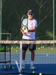 Bruce Caton, USTPA certified professional 1 tennis