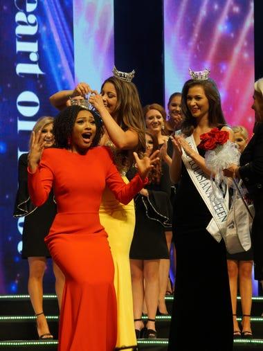 Miss Louisiana 2017 Laryssa Bonacquisti crowns Miss