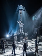 A chair-balancing act in Cirque du Soleil's new ice-skating